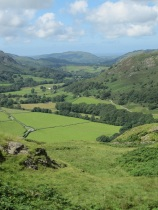 Eskdale from hardknot fort