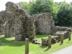 remains of roman bath house Ravenglass
