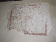 Imber church wall painting 1