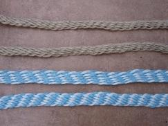 finger woven braids